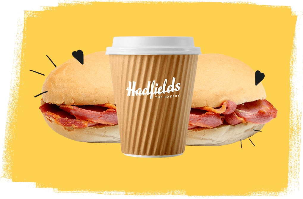 Buy 2 hot sandwiches and get a free hot drink