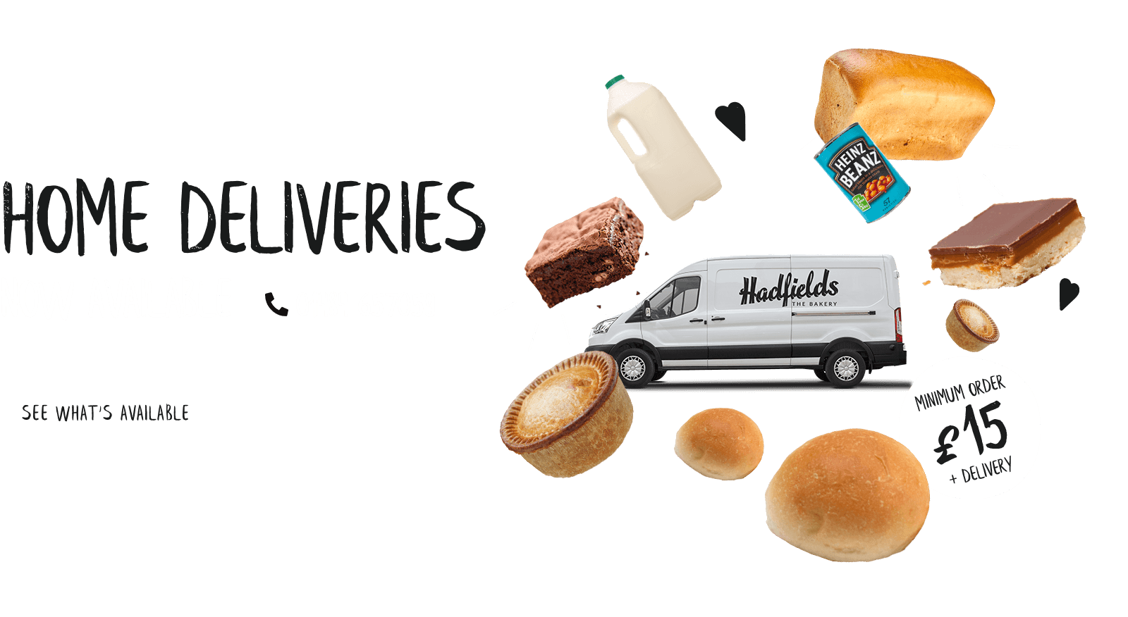 Hadfields Bakery Home Delivery Service